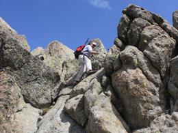Aufstieg Monte Rotondo